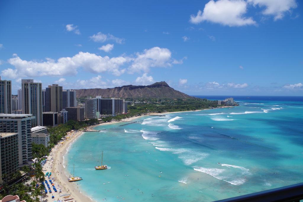 ハワイ シェラトンワイキキからの画像