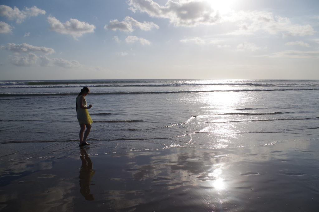 バリ スミニャックビーチ