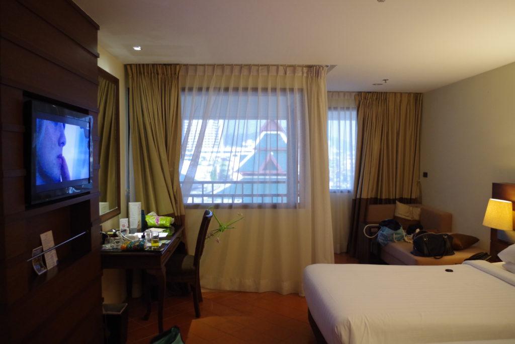 ノボテルの部屋の写真