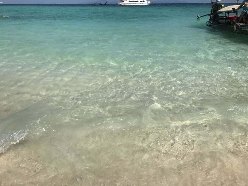 バンブー島の船