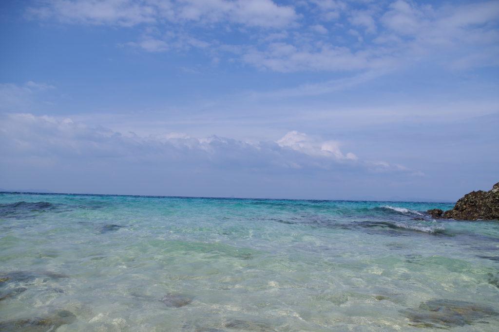マイトン島の海