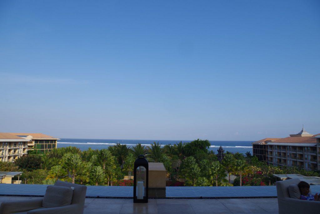 ムリアリゾートのロビーからの眺め