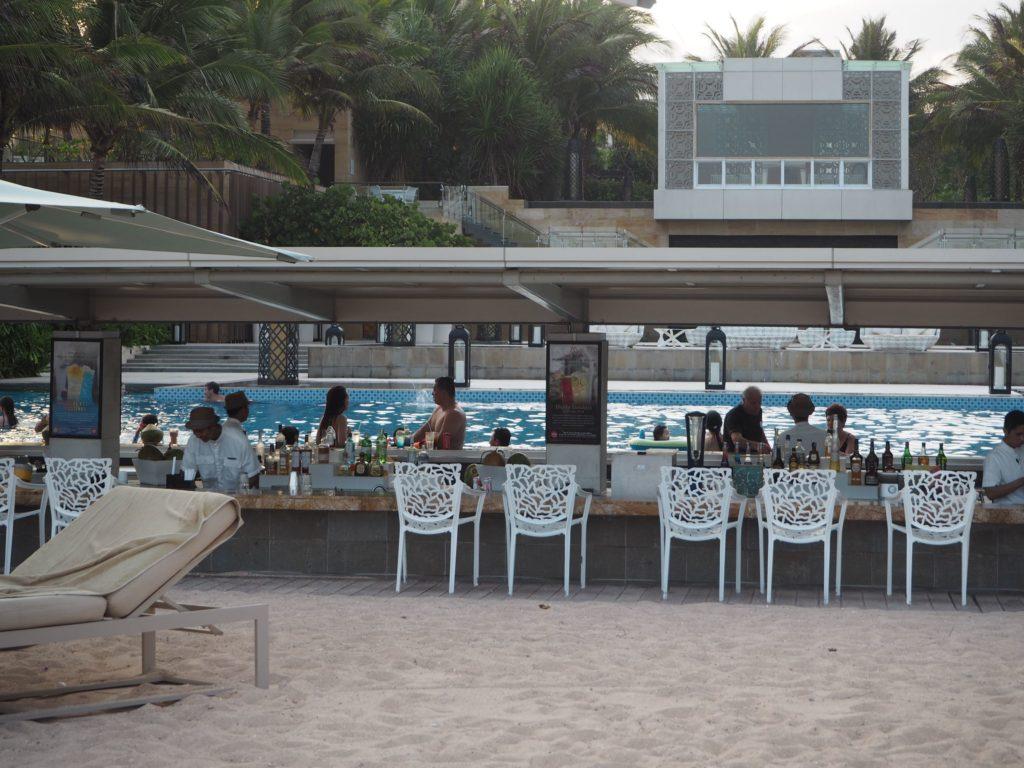 ムリアリゾートのプール