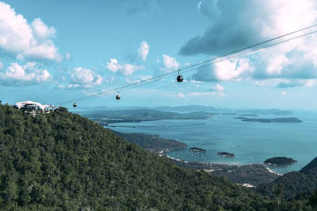 ランカウイ島の景色
